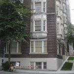 x files filming location - 610 Jervis St., West End: Scully's apartment building, exterior